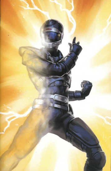 Boom Studios Mighty Morphin Power Rangers #36 Beyond The Grid Comic Book [Linda Lithen Virgin Variant Cover]