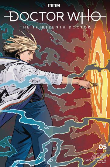 Titan Comics Doctor Who The Thirteenth Doctor #5 Comic Book