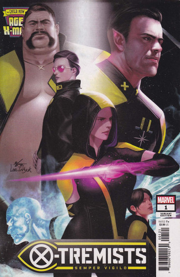 Marvel Comics Age of X-Men: X-Tremists #1 Comic Book [In-Hyuk Lee Connecting Variant]