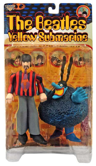 McFarlane Toys The Beatles Yellow Submarine Feature Film Figures Ringo Action Figure [with Blue Meanie]