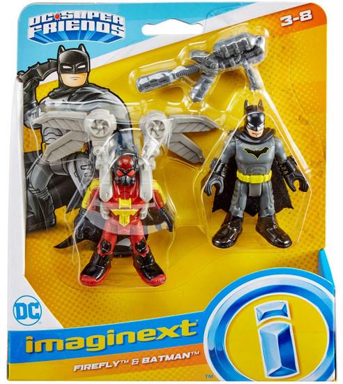 Fisher Price DC Super Friends Imaginext Firefly & Batman Figure Set