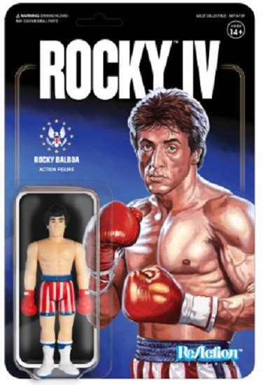 ReAction Rocky IV Rocky Balboa Action Figure