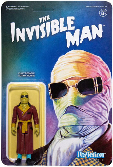 ReAction Universal Monsters The Invisible Man Action Figure