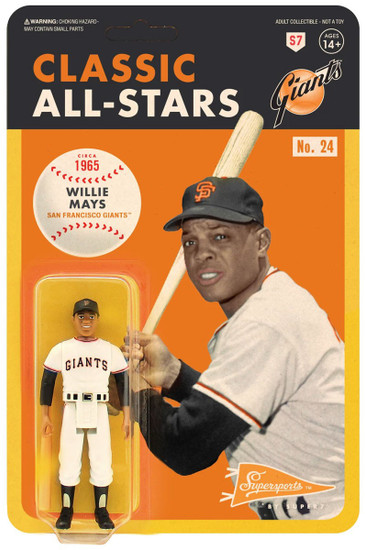 ReAction MLB Classic All-Stars San Francisco Giants Willie Mays Action Figure