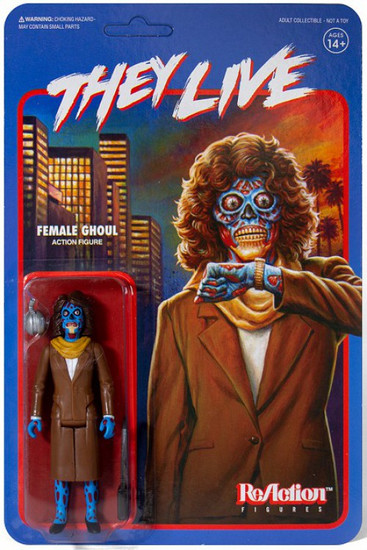ReAction They Live Female Ghoul Action Figure