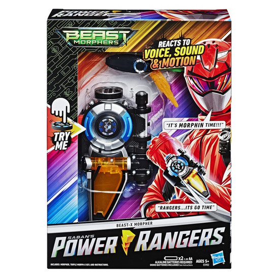 Power Rangers Beast Morphers Beast-X Morpher Roleplay Toy [Reacts to Voice, Sound & Motion!]