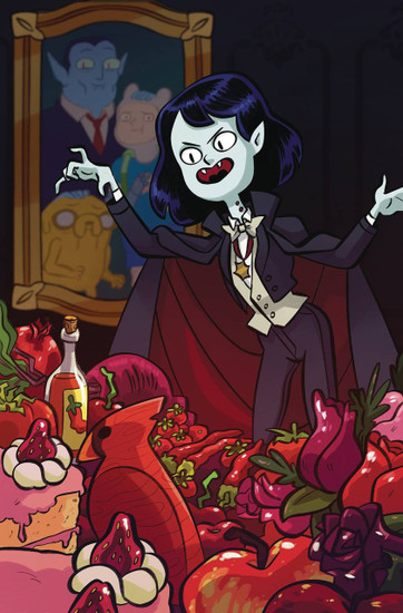 KaBOOM! Adventure Time Marcy & Simon #3 Comic Book [Marcy Variant Cover]