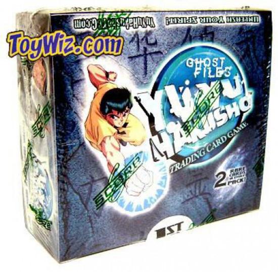 Yu Yu Hakusho Trading Card Game Ghost Files Booster Box [24 Packs]
