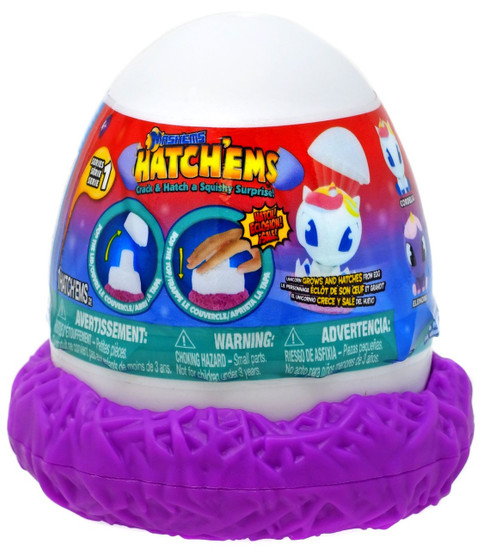 Mash'Ems Hatch'ems Series 1 Mystery Pack [Unicorns, RANDOM Color Pack]