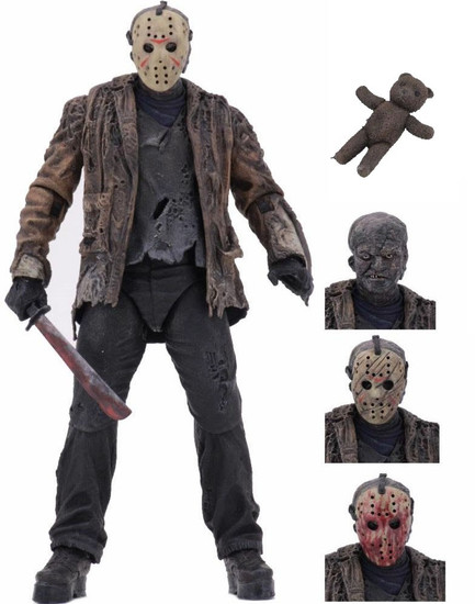 NECA Friday the 13th Freddy vs. Jason Jason Voorhees Action Figure [Ultimate Version]