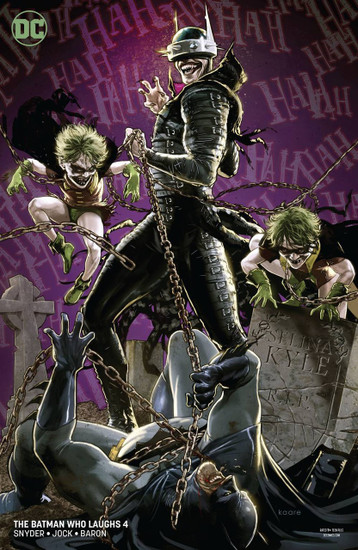 DC The Batman Who Laughs #4 Comic Book [Kaare Andrews Variant]