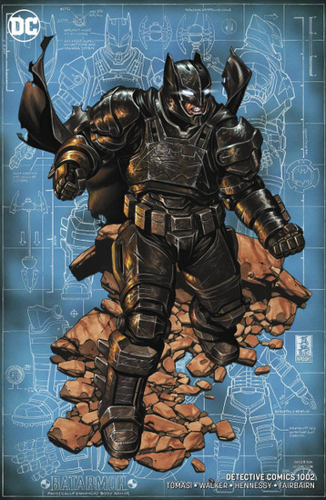 DC Detective Comics #1002 Comic Book [Mark Brooks Variant]
