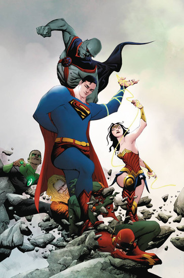 DC Justice League #21 Comic Book [Jae Lee Variant]