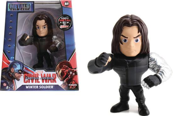 Marvel Civil War Metals Winter Soldier Action Figure