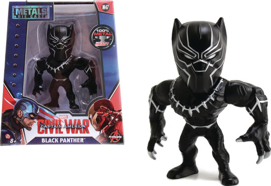 "Marvel Civil War Metals Black Panther Action Figure [4""]"