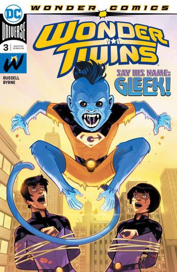 DC Wonder Twins #3 Comic Book