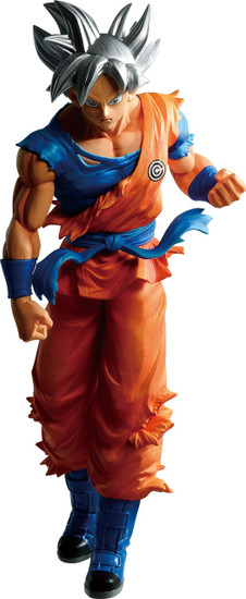 Dragon Ball Heroes Ichiban Ultra Instinct Son Goku 9.8-Inch Collectible PVC Figure