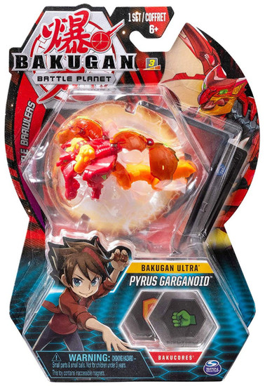 Bakugan Battle Planet Battle Brawlers Ultra Pyrus Garganoid