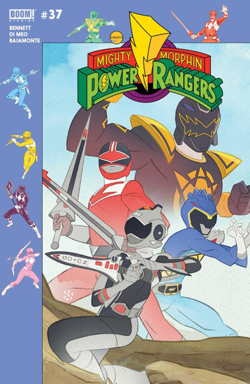 Boom Studios Mighty Morphin Power Rangers #37 Beyond The Grid Comic Book [Gibson Variant]