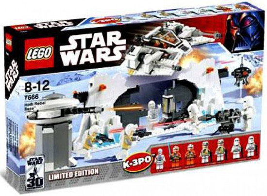 LEGO Star Wars The Empire Strikes Back Hoth Rebel Base Exclusive Set #7666
