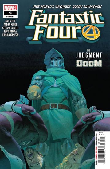 Marvel Comics Fantastic Four #9 Comic Book