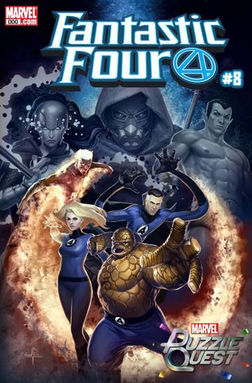 Marvel Comics Fantastic Four #8 Comic Book [Yongho Cho Variant]