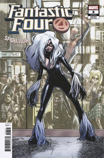 Marvel Comics Fantastic Four #8 Comic Book [Ramos Spider-Man Villains Variant]