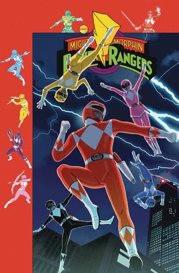 Boom Studios Mighty Morphin Power Rangers #38 Beyond The Grid Comic Book [Jordan Gibson Variant Cover]