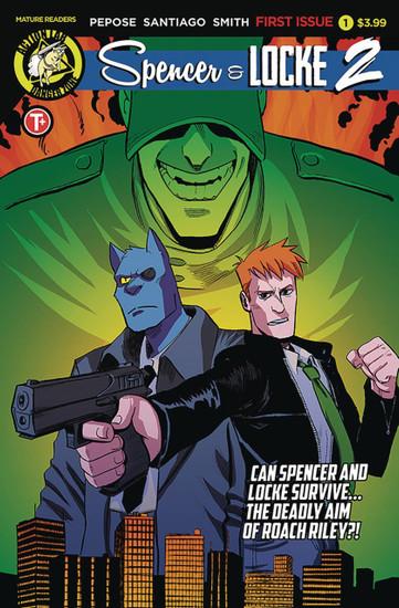 Danger Zone Spencer & Locke 2 #1 Comic Book