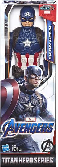 Marvel Avengers Endgame Titan Hero Series Captain America Action Figure