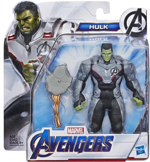 Marvel Avengers Endgame Team Suit Hulk 6-Inch Deluxe Figure