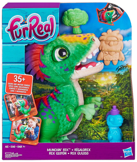 FurReal Friends Munchin Rex Dinosaur Plush Figure