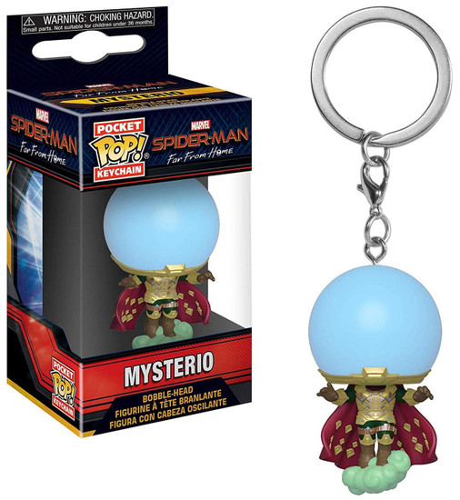 Funko Marvel Spider-Man Far From Home Pocket POP! Mysterio Keychain