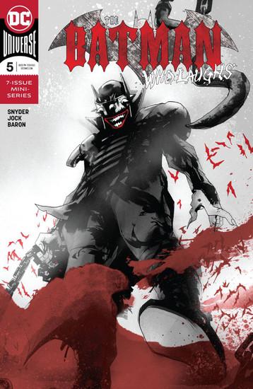 DC The Batman Who Laughs #5 Comic Book