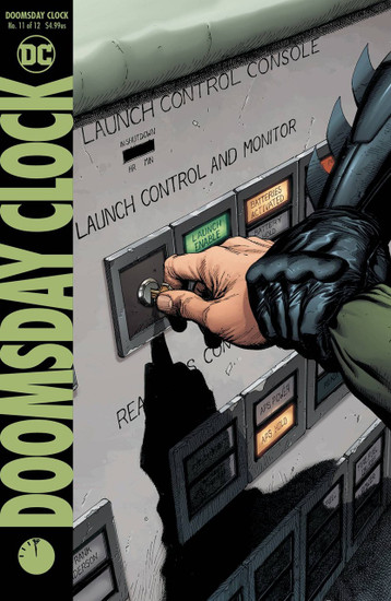 DC Doomsday Clock #11 Comic Book