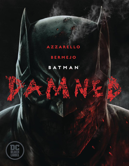 DC Black Label Batman Damned Hard Cover Comic Book