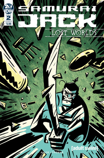 IDW Samurai Jack Lost Worlds #2 Comic Book [Gavin Fullerton Cover B]