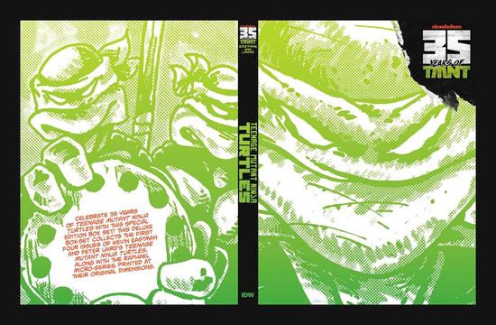 IDW Teenage Mutant Ninja Turtles 35th Anniversary Comic Book Box Set
