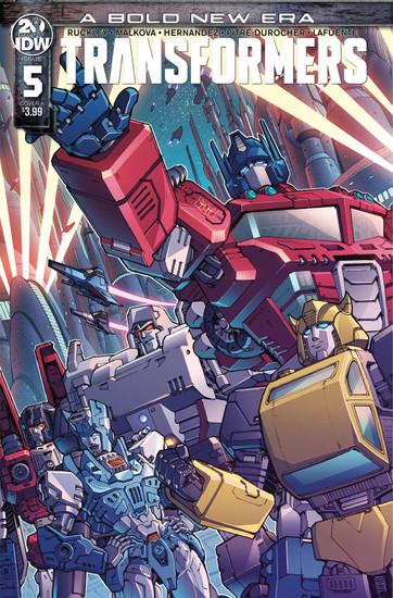 IDW Transformers #5 Comic Book