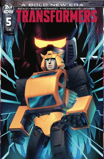 IDW Transformers #5 Comic Book [Cachet Whitman Cover B]