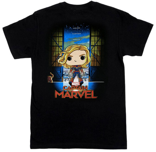 Funko Marvel Collector Corps Captain Marvel Exclusive T-Shirt [2X-Large]
