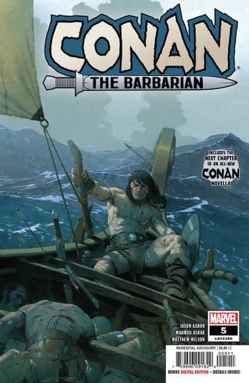 Marvel Conan The Barbarian #5 Comic Book