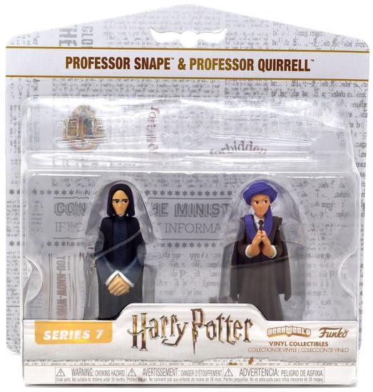 Funko Harry Potter Hero World Series 7 Professor Snape & Professor Quirrell Exclusive 4-Inch Vinyl Figure 5-Pack [Damaged Package]