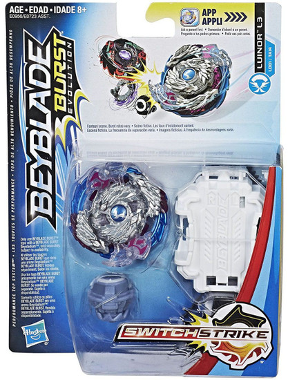 Beyblade Burst Switchstrike Luinor L3 Starter Pack [Damaged Package]