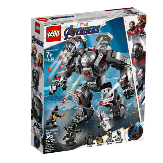 LEGO Marvel Super Heroes Avengers War Machine Buster Set #76124