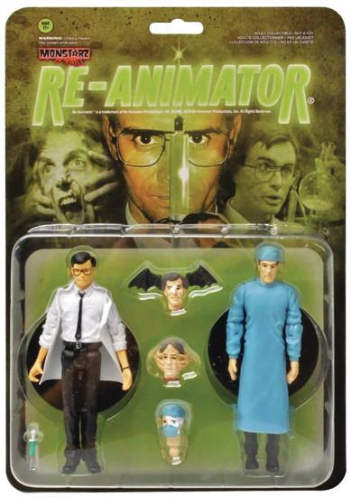 Re-Animator Herbert West & Carl Hill Action Figure 2-Pack