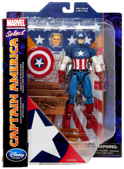 Marvel Select Captain America Exclusive Action Figure [2019]