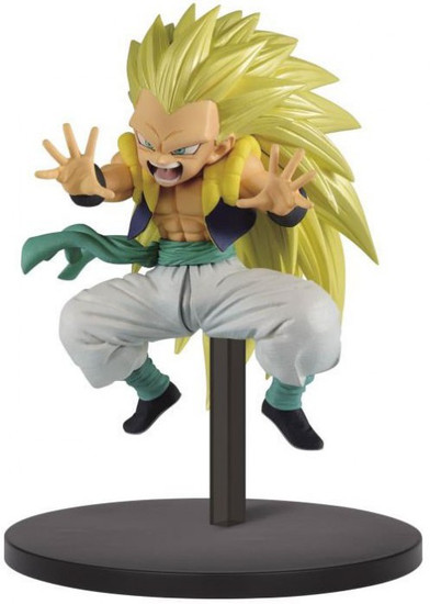 Dragon Ball Z: Buyu Retsuden World Figure Colosseum 2 Super Saiyan 3 Gotenks 5.9-Inch Collectible PVC Figure