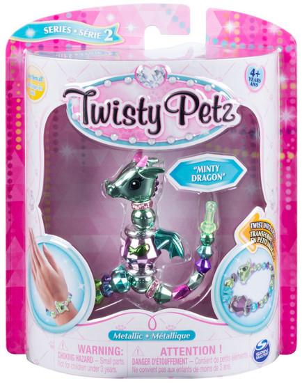 Twisty Petz Series 2 Minty Dragon Bracelet