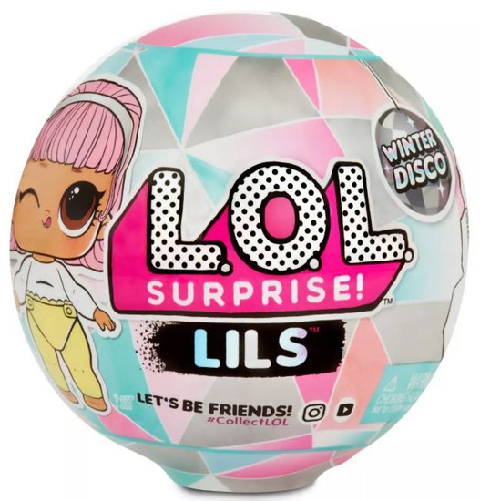 LOL Surprise Winter Disco Lils Mystery Pack [Sister, Bro OR Pet]